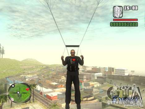 Футболка I Love My IV для GTA San Andreas пятый скриншот