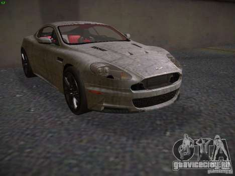 Aston Martin DBS для GTA San Andreas вид сбоку