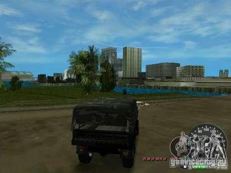 Урал 4320 Военный для GTA Vice City вид справа