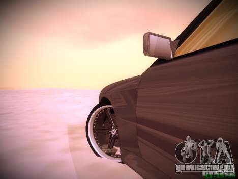 BMW M3 Drift для GTA San Andreas вид слева
