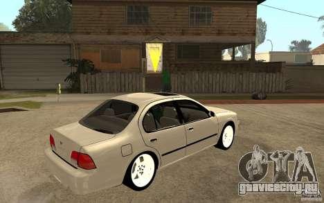 Nissan Maxima 1998 для GTA San Andreas вид справа