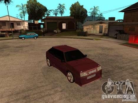 ВАЗ 2108 Tuning для GTA San Andreas вид справа