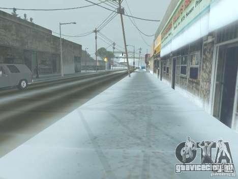 Зима для GTA San Andreas четвёртый скриншот