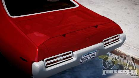 Pontiac GTO 1965 v1.1 для GTA 4 вид снизу