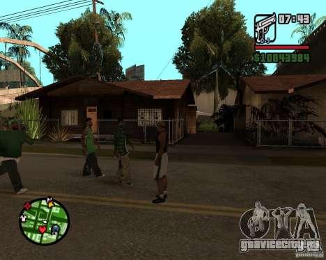 Подмога братков для GTA San Andreas третий скриншот