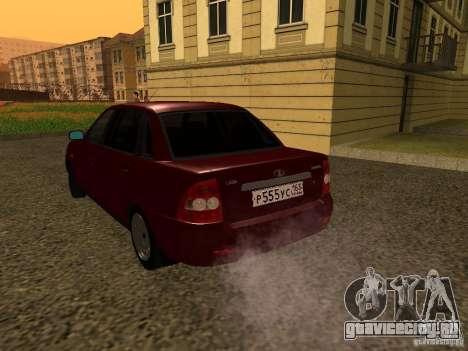 ВАЗ 2170 Премьер для GTA San Andreas вид справа