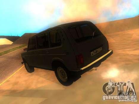 ВАЗ-2131 НИВА для GTA San Andreas вид слева