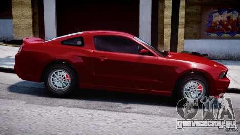 Ford Shelby GT500 2010 для GTA 4 вид слева