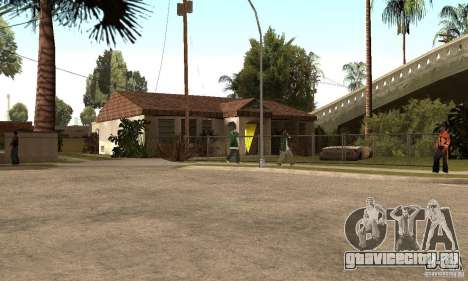 GTA SA Enterable Buildings Mod для GTA San Andreas пятый скриншот