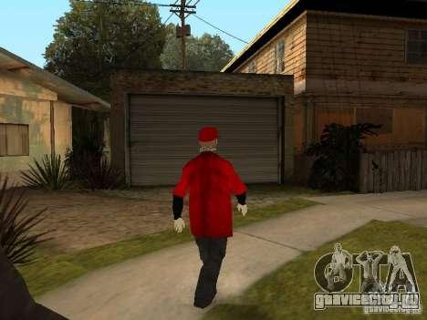 JabbaWockeeZ Skin для GTA San Andreas шестой скриншот
