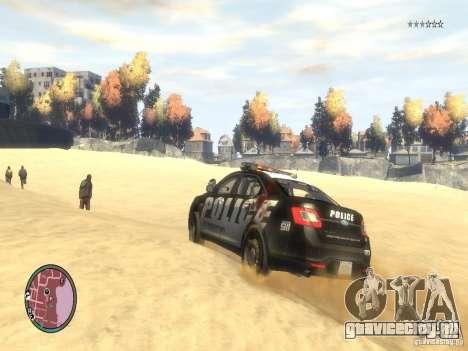 Ford Taurus Police для GTA 4 вид сбоку