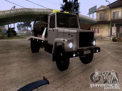 ГАЗ 3309 Эвакуатор для GTA San Andreas вид слева