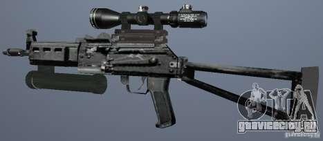 Пистолет-пулемет Бизон для GTA San Andreas второй скриншот