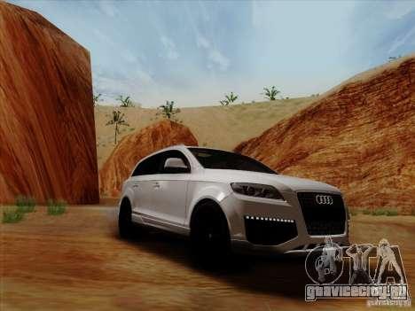 Audi Q7 2010 для GTA San Andreas вид сзади слева