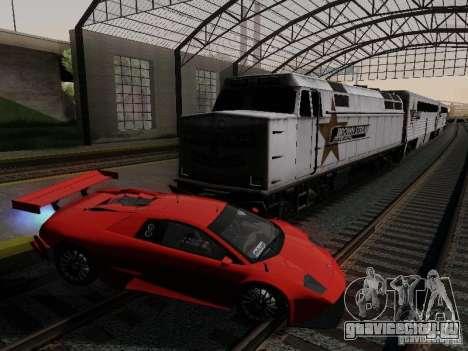 Crazy Trains MOD для GTA San Andreas второй скриншот