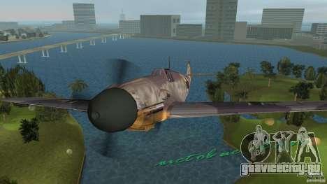 WW2 War Bomber для GTA Vice City вид справа