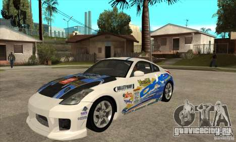 Nissan 350z Stock - Tunable для GTA San Andreas