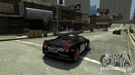 Lamborghini Gallardo SE Threep Edition [EPM] для GTA 4 вид слева