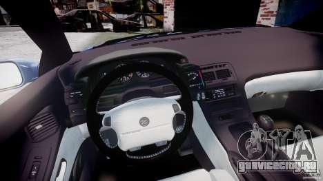 Nissan 300 ZX 1994 v1.0 для GTA 4 вид сзади