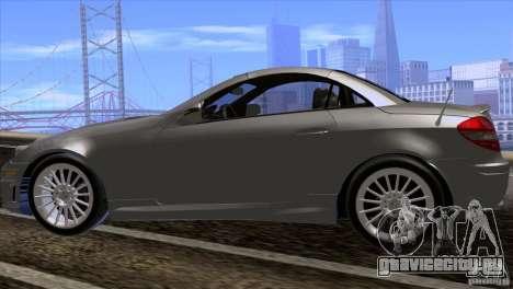 Mercedes-Benz SLK 55 AMG для GTA San Andreas вид сзади