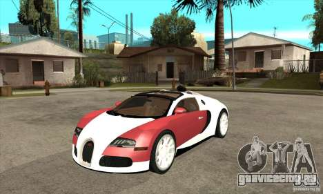 Bugatti Veyron Grand Sport для GTA San Andreas