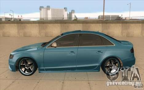 Audi S4 2009 для GTA San Andreas вид слева