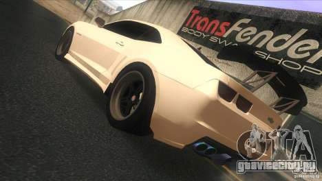 Chevrolet Camaro SS Dr Pepper Edition для GTA San Andreas вид справа