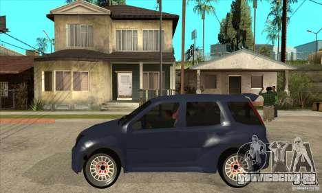 Suzuki Ignis Rally для GTA San Andreas вид слева