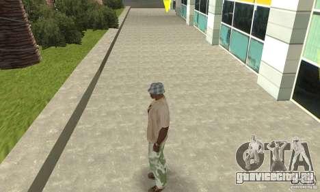 Камуфляжные штаны для GTA San Andreas второй скриншот