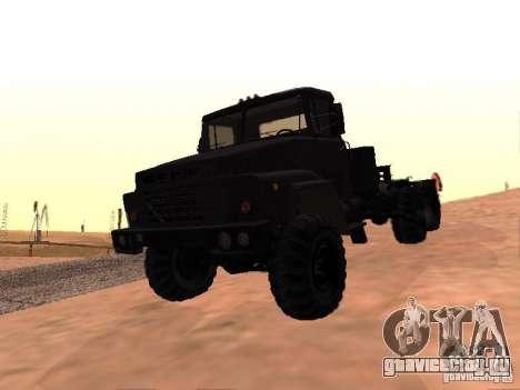 КрАЗ 260V для GTA San Andreas вид сверху
