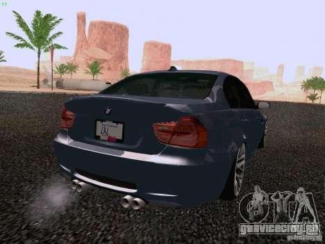 BMW M3 E90 Sedan 2009 для GTA San Andreas вид слева