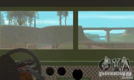 Jeep Willys Rock Crawler для GTA San Andreas вид сбоку