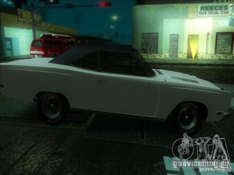 Plymouth Roadrunner 440 для GTA San Andreas вид сзади слева