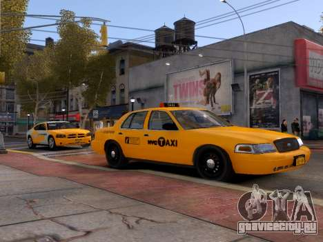 Ford Crown Victoria NYC Taxi 2013 для GTA 4