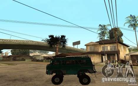 УАЗ Буханка hard off-road для GTA San Andreas вид слева