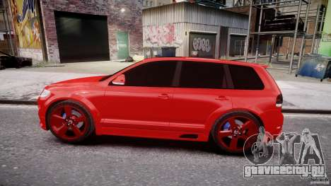 Volkswagen Touareg R50 2008 Tune (Beta) для GTA 4 вид изнутри