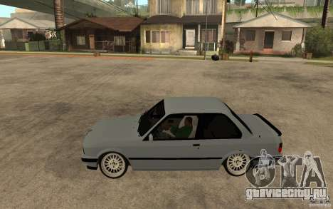 BMW E30 CebeL Tuning для GTA San Andreas вид слева