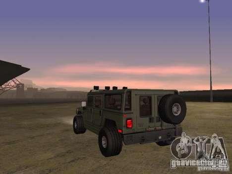 Hummer H1 для GTA San Andreas вид справа