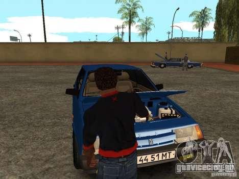 Открыть багажник и капот вручную для GTA San Andreas