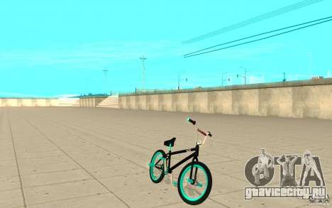 REAL Street BMX mod Black Edition для GTA San Andreas