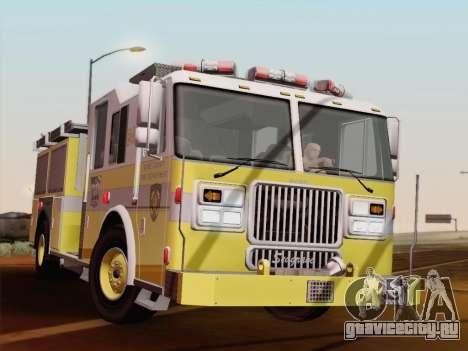 Seagrave Marauder II BCFD Engine 44 для GTA San Andreas