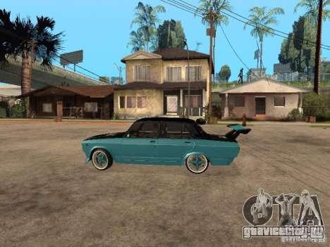 ВАЗ 2107 Drift для GTA San Andreas вид слева