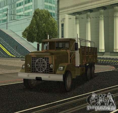 Sand Barracks HD для GTA San Andreas вид слева