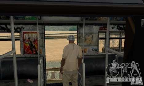 GTA IV Enterable Train для GTA San Andreas вид снизу