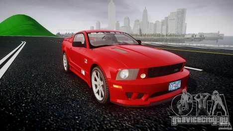 Saleen S281 Extreme - v1.2 для GTA 4 вид сзади