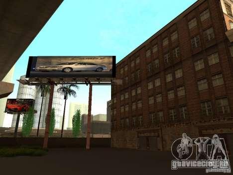 Новые текстуры центра Лос-Сантоса для GTA San Andreas пятый скриншот
