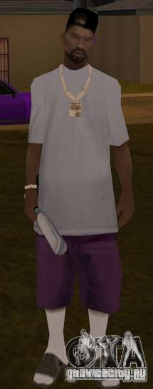 New ballas для GTA San Andreas третий скриншот