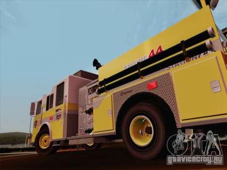 Seagrave Marauder II BCFD Engine 44 для GTA San Andreas колёса