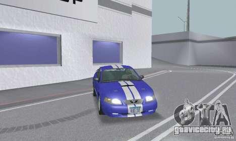 Ford Mustang GT 2003 для GTA San Andreas колёса