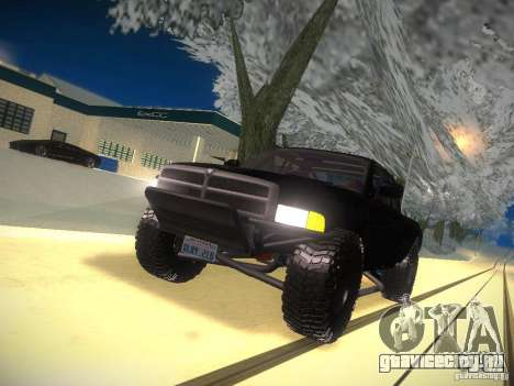 Dodge Ram Prerunner для GTA San Andreas вид сверху